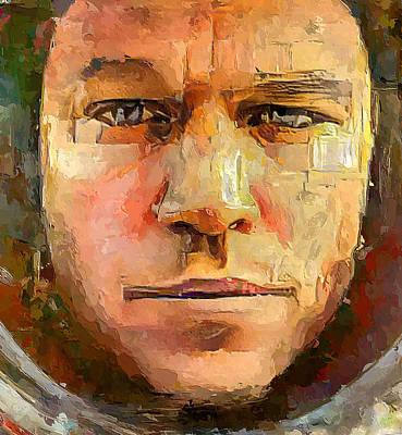 Digital Art - the Martian 1 by Yury Malkov