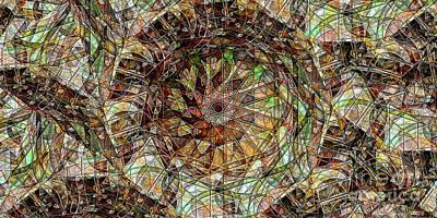 Michael C Geraghty Digital Art - The Martian Engineers Garden - Amcg20160421 by Michael Geraghty