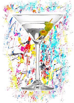 Martini Digital Art - The Martini by Karl Knox Images