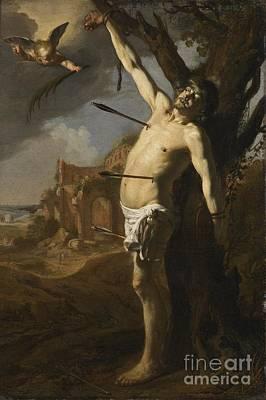 Painting - The Martyrdom Of Saint Sebastian by David Colijns