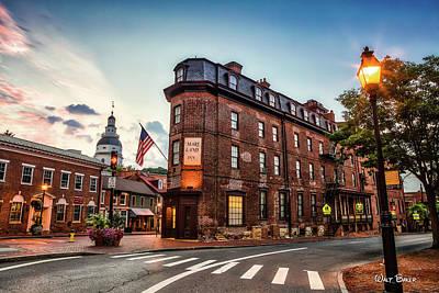 Photograph - The Maryland Inn by Walt Baker