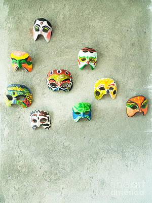 Jawa Photograph - The Mask by Danu Primanto