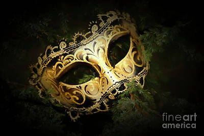 Carnaval Photograph - The Mask by Darren Fisher