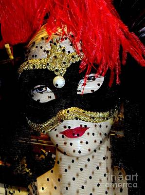 Photograph - The Masked Ball by Ed Weidman
