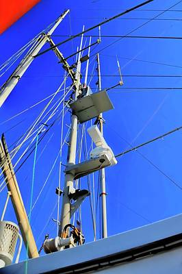 Photograph - The Mast by Jerry Sodorff