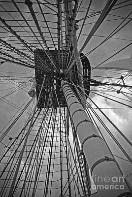 Moet Wall Art - Photograph - The Mast by Jost Houk