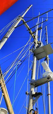 Photograph - The Mast P 2393 by Jerry Sodorff