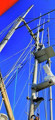 Photograph - The Mast P by Jerry Sodorff