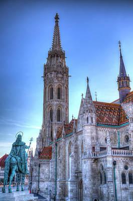 Photograph - The Mathias Church Budapest by David Pyatt
