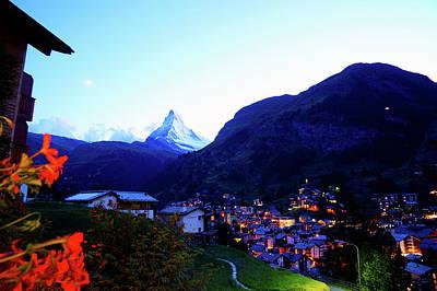 The Matterhorn In Dusk Original