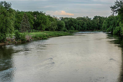 Photograph - The Maumee River by Gene Sherrill