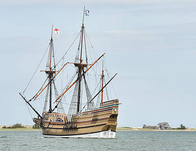 Photograph - The Mayflower II by Joanne Brown