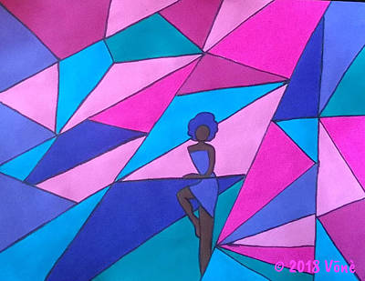 Painting - The Maze Of Life by Yvonne Carson