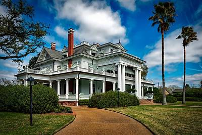Beaumont Photograph - The Mcfaddin - Ward House by Mountain Dreams