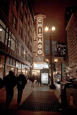 Photograph - The Mean Streets Of Chicago by Linda Unger
