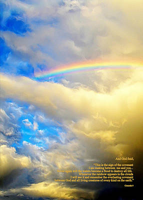 Photograph - The Meaning Of The Rainbow by Glenn McCarthy Art and Photography