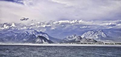 The Mediterranean Coast Art Print