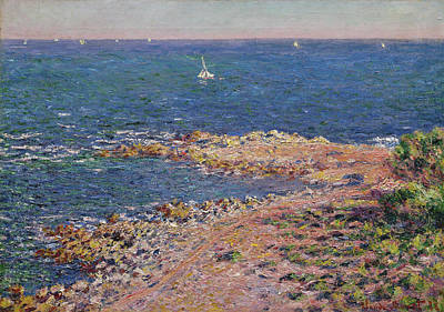Painting - The Mediterranean With A Mistral Wind by Claude Monet