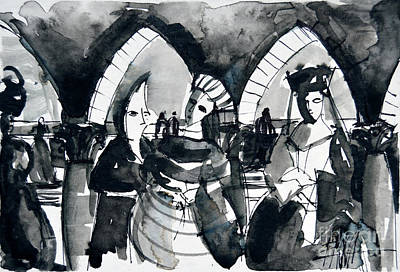 The Meeting - Venice Carnival Original