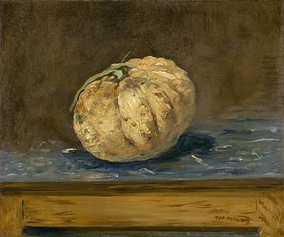 The Melon Print by Edouard Manet