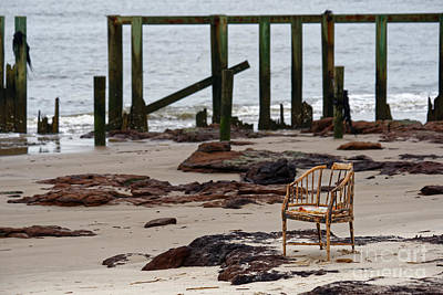 Photograph - The Melrose Chair by Paul Mashburn