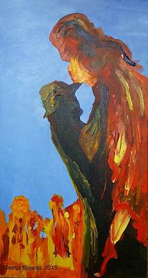 Painting - The Melting by Geeta Biswas