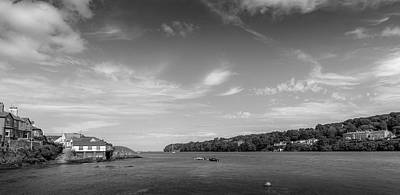 Photograph - The Menai Straits by Georgia Fowler