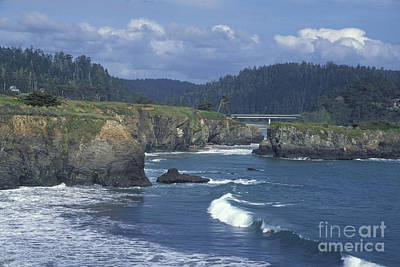 Photograph - The Mendocino Coast 2 by Stan and Anne Foster