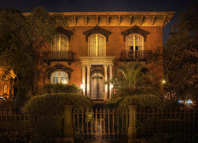 Photograph - The Mercer House by Mark Andrew Thomas