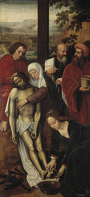The Mercy  Art Print by Ambrosius Benson