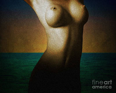 Photograph - The Mermaid by Edmund Nagele