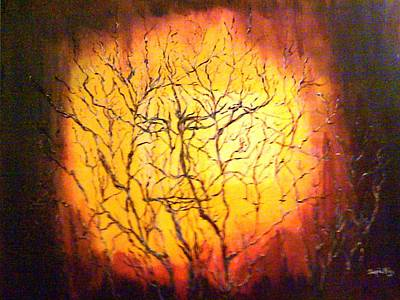 Golden Vines Painting - The Message by Jacquie King