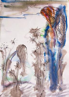 The Message Of The Angel Original by Olesya Tarasova