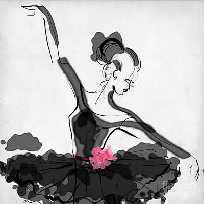 The Met Dancer Art Print