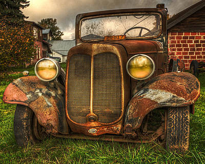 Photograph - Not Old Just A Little Rusty by Thom Zehrfeld