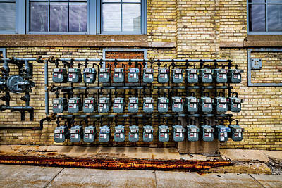 Photograph - The Meter Is Running by Randy Scherkenbach