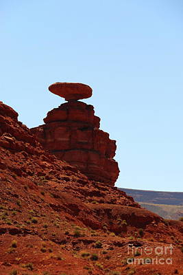 Photograph - The Mexican Hat Rock by Christiane Schulze Art And Photography