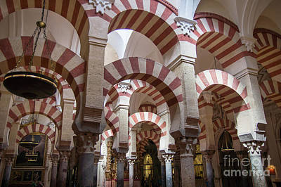 Photograph - The Mezquita In Cordoba by Rod Jones