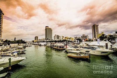 Photograph - The Miami Beach Annual Boat Show by Rene Triay Photography