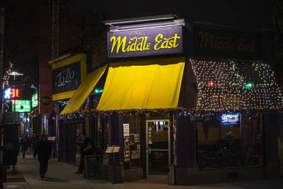 Photograph - The Middle East Cambridge Ma Central Square by Toby McGuire