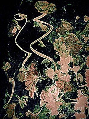 Digital Art - The Midnight Flower by Nancy Kane Chapman