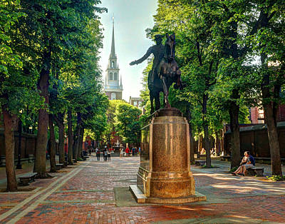 Photograph - The Midnight Ride Of Paul Revere  by Jeff Stallard