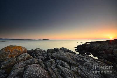 Bay Photograph - The Midnight Sun by Nichola Denny