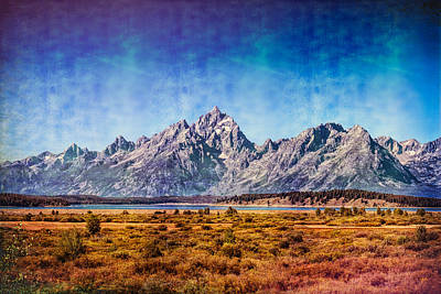 Photograph - The Midsummer Grand Teton by John M Bailey