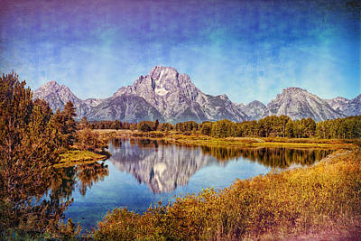 Photograph - The Midsummer Mount Moran by John M Bailey