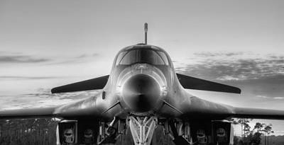 Photograph - The Mighty B-1b by JC Findley