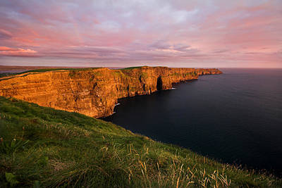 The Mighty Cliffs Of Moher In Ireland Art Print by Pierre Leclerc Photography