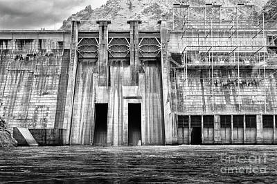 Photograph - The Mighty Dam Architecture Art By Kaylyn Franks by Kaylyn Franks