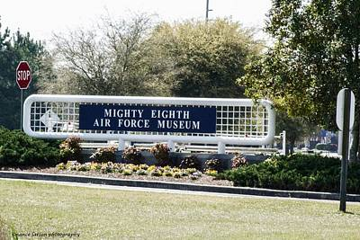 Photograph - The Mighty Eighth Air Force Museum by Nance Larson