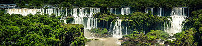 Photograph - The Mighty Iguazu  by Andrew Matwijec